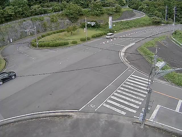国道163号(島ヶ原町区)映像